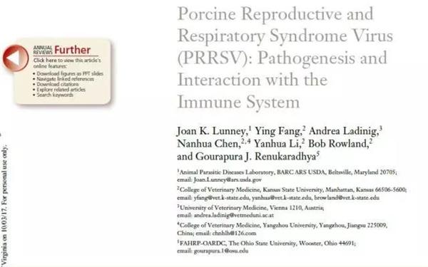 一文告诉你PRRSV如何吸附宿主细胞